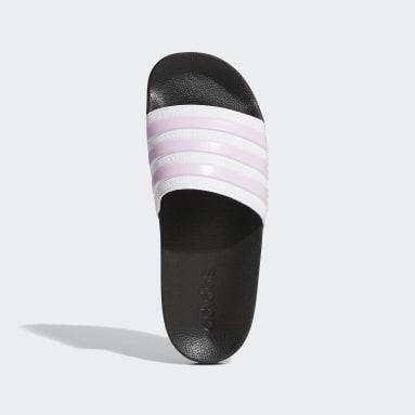 เด็ก ว่ายน้ำ สีขาว รองเท้าแตะ Adilette Shower
