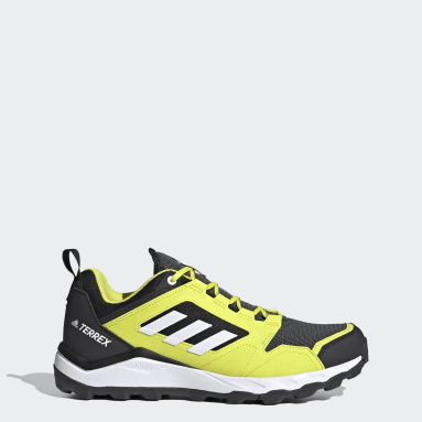 Men TERREX Yellow Terrex Agravic TR Trail Running Shoes