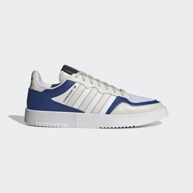 Men Originals Grey Supercourt Stripes Shoes