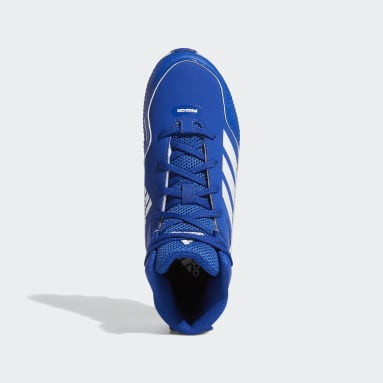 Children Baseball Blue Icon 7 Mid MD Cleats