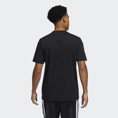 Men Basketball Black adidas x LEGO® Tee Damian Lillard