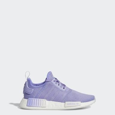 Barn Originals Vit NMD_R1 Shoes