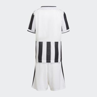 Kids 4-8 Years Football White Juventus 21/22 Home Mini Kit