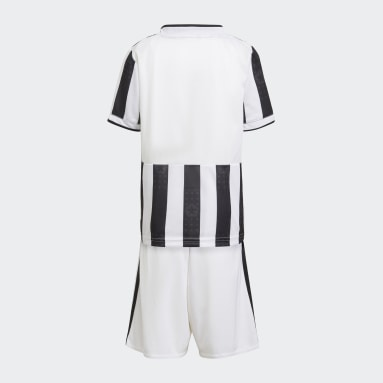 Mini kit Domicile Juventus 21/22 Blanc Enfants Football