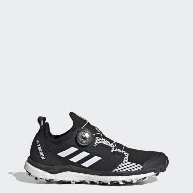 Women TERREX Black Terrex Agravic BOA® Trail Running Shoes