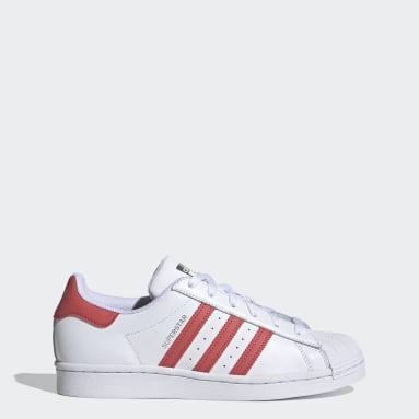 Dam Originals Vit Superstar Shoes