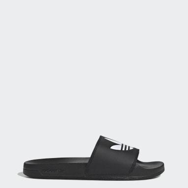 Originals สีดำ รองเท้าแตะ Adilette Lite