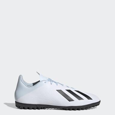 Men Football White X 19.4 Turf Boots