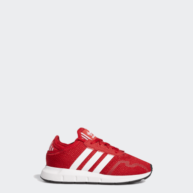 Children Originals Red Swift Run X Shoes