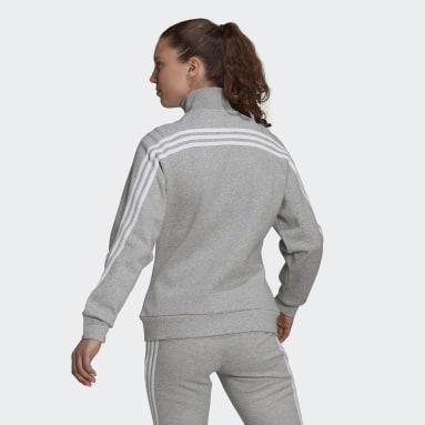 Women's Sportswear Grey adidas Sportswear Future Icons 3-Stripes Track Jacket