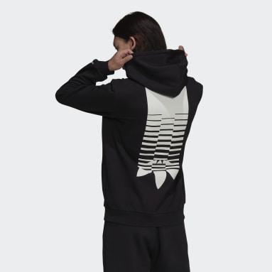 Sweat-shirt à capuche Graphics Symbol Noir Hommes Originals