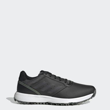 Zapatilla de golf S2G Spikeless Leather Negro Golf