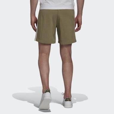 Short Essentials French Terry 3-Stripes Vert Hommes Sportswear