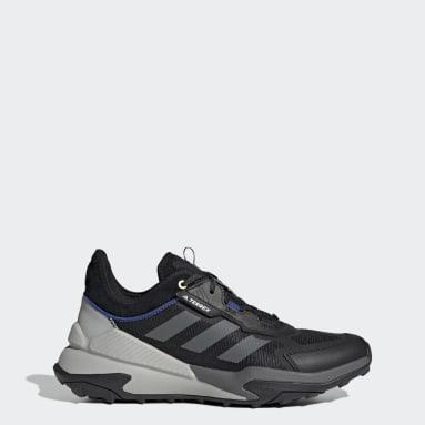 Men TERREX Black Terrex Hyperblue Hiking Shoes
