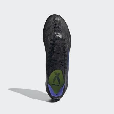 Fodbold Sort X Speedflow.3 Turf støvler