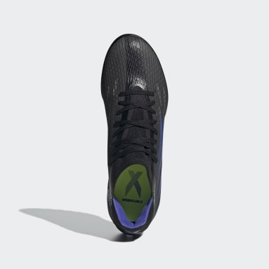 Zapatilla de fútbol X Speedflow.3 moqueta Negro Fútbol