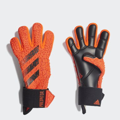 оранжевый Вратарские перчатки Predator Pro