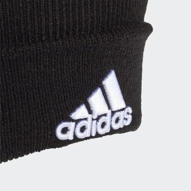 Hardlopen Zwart Logo Muts