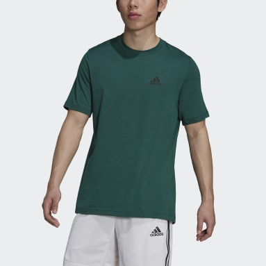 Men's Training Green AEROREADY Designed 2 Move Feelready Sport Tee