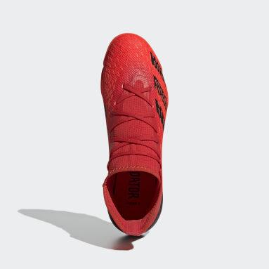 Men Soccer Red Predator Freak.3 Turf Shoes