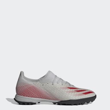 Men's Soccer Grey X Ghosted.3 Turf Shoes