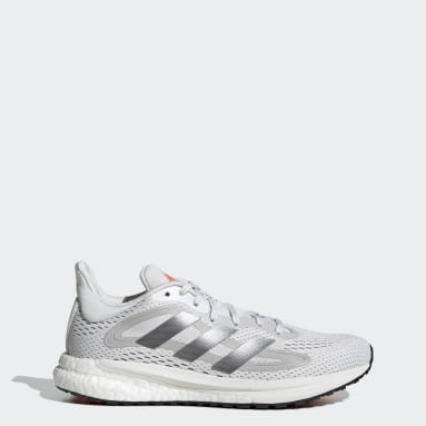Women Running White SolarGlide 4 Shoes