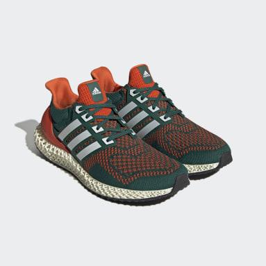 Men Running Green Ultra 4D Shoes