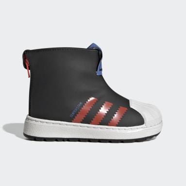 Infant & Toddler Originals Black Superstar 360 Rain Boots