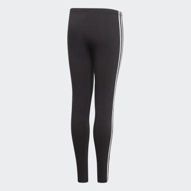 Calça Legging 3-Stripes Preto Meninas Originals
