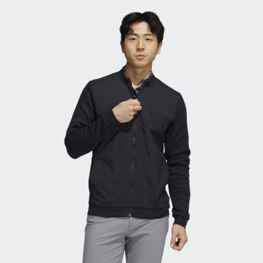 Veste Go-To Recycled Content Quilted Full-Zip noir Hommes Golf