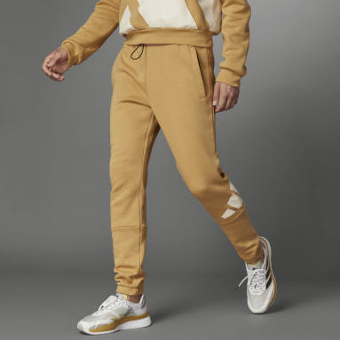 Pantalon Logo Beige Hommes Sportswear