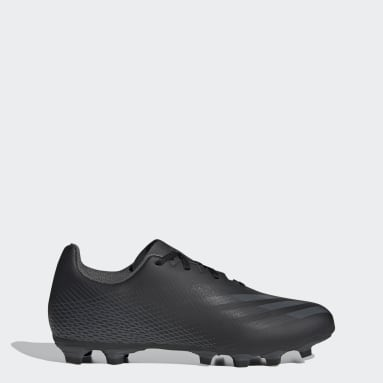 Soccer Black X Ghosted.4 Flexible Ground Soccer Cleats