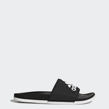 Women Lifestyle Black Adilette Comfort Slides