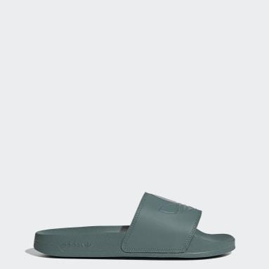Sandalias adilette Lite Verde Originals