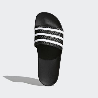 Originals สีดำ รองเท้าแตะ adilette