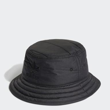 Originals Black Adicolor Winterized Classic Trefoil Bucket Hat