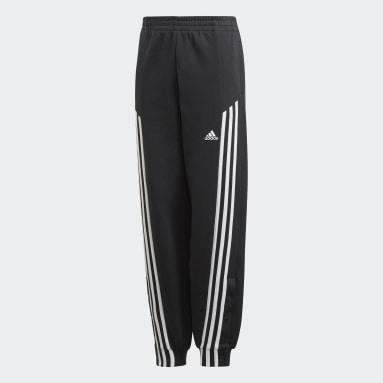 Pants Snap Negro Niña Training