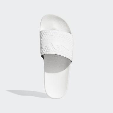 Men Originals White Shmoofoil Slides