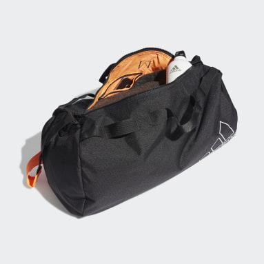Sports Canvas Duffel Bag Czerń