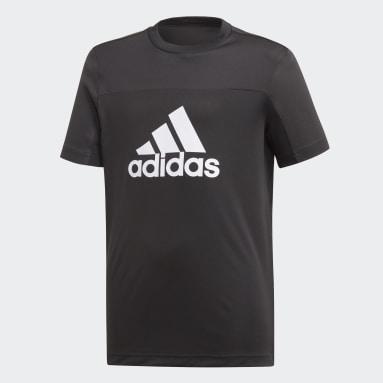 T-shirt Equipment Noir Garçons Studio