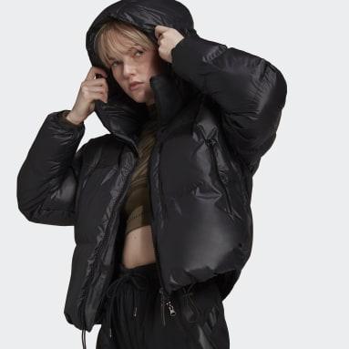 Women adidas by Stella McCartney Black adidas by Stella McCartney Short Puffer Jacket