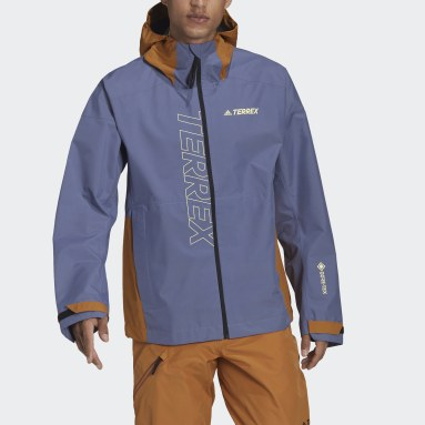 Men TERREX Purple Terrex GORE-TEX Paclite Rain Jacket
