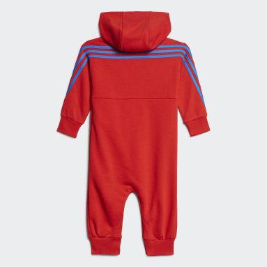 Combinaison adidas x Classic LEGO® Hooded rouge Bambins & Bebes Entraînement