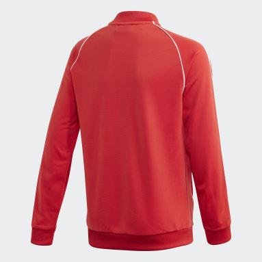 Youth Originals Red SST Track Jacket
