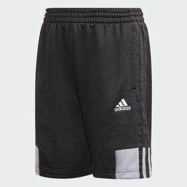 Shorts Must Haves 3 Tiras AEROREADY Negro Niño Training