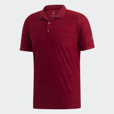 Men Tennis Burgundy MatchCode Polo Shirt