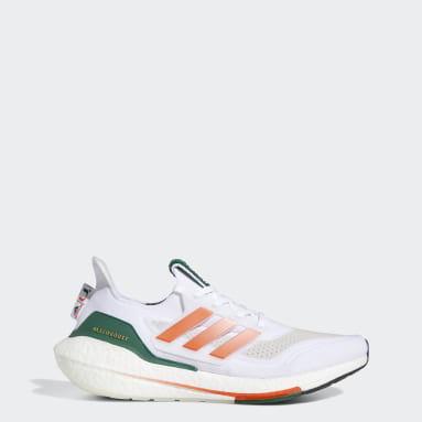 Running White Miami Ultraboost 21 Shoes