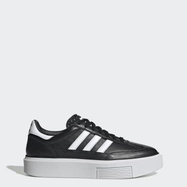 Dames Originals Zwart adidas Sleek Super 72 Schoenen