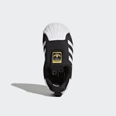 Kinderen Originals Zwart Superstar 360 Schoenen