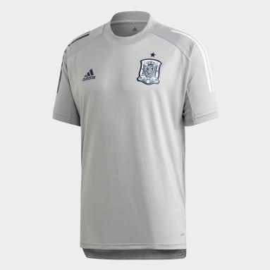 Camiseta entrenamiento España Gris Hombre Fútbol